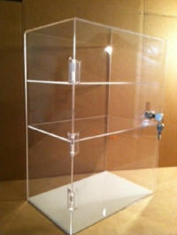 An example of one of our product display fabrication projects